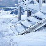 How to keep wooden steps ice-free