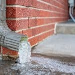 How to keep downspouts from freezing