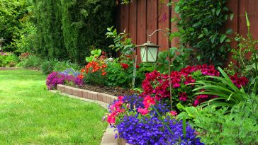How to keep grass from growing over edging