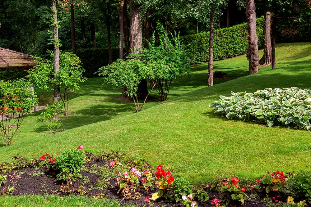 How to measure slope of yard