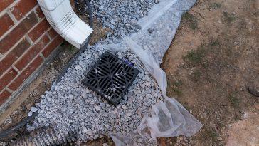 French drain vs catch basin