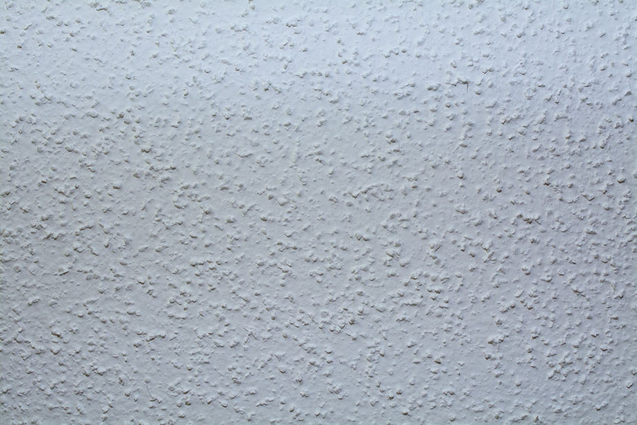 How to fix drywall tape on a textured ceiling