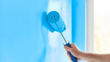 How to fix drywall patch marks showing through paint