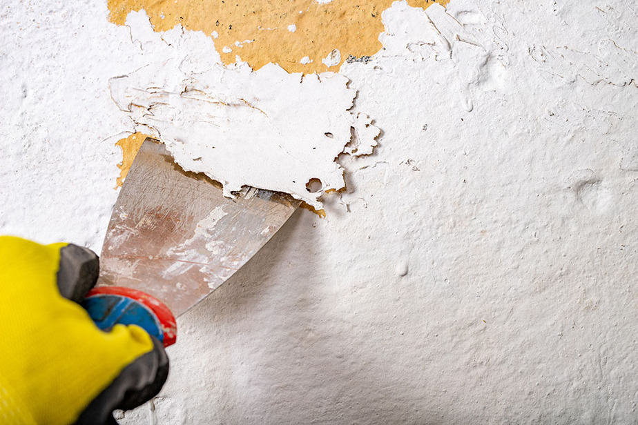 How to fix peeling paint on drywall