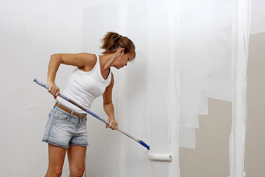 How to hide drywall seams with paint