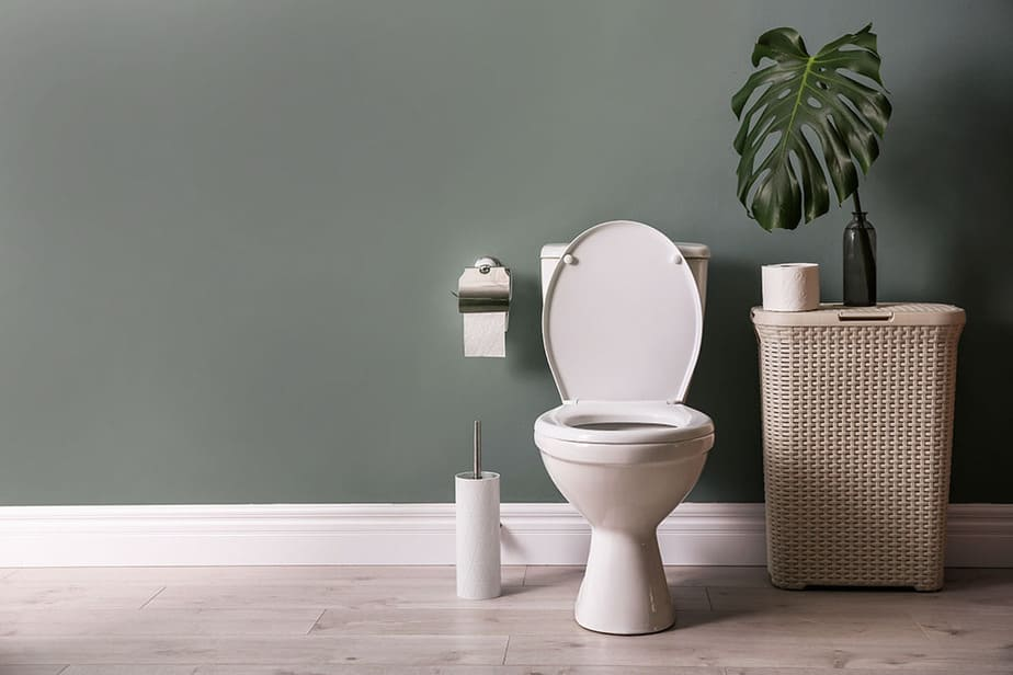 How to remove toilet wax ring residue