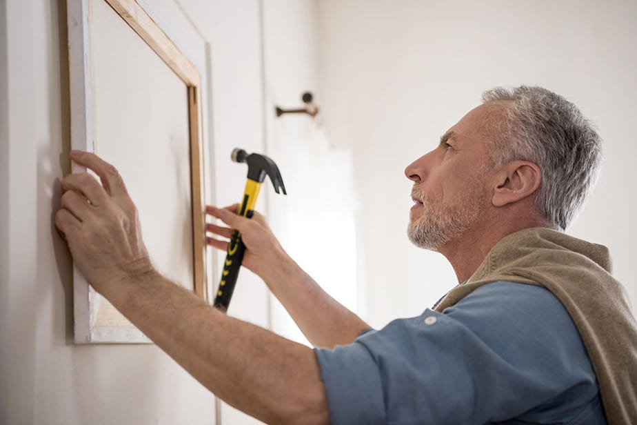 Plaster vs Drywall hanging pictures