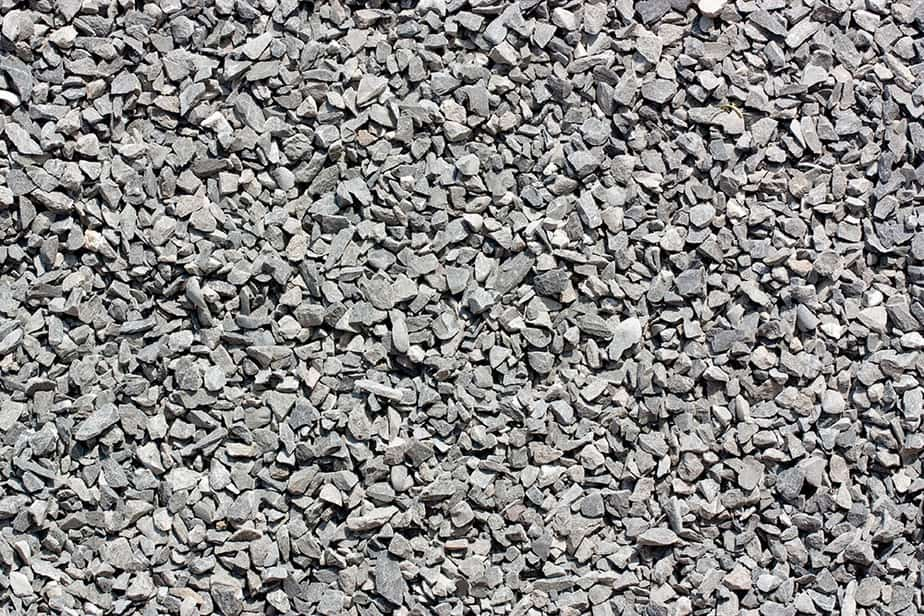 Angular gravel is the best type of gravel when laying a driveway or path on a slope.