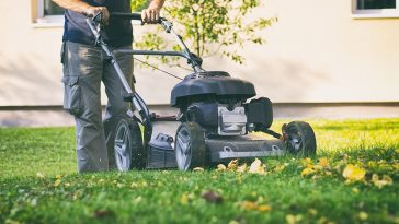 Can you mow over leaves?