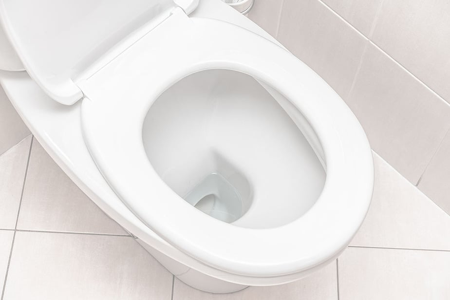 How to remove toilet flange that is glued