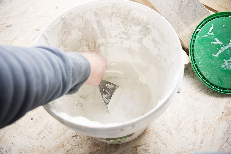 How to soften drywall compound