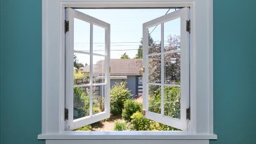 How to install window trim over drywall