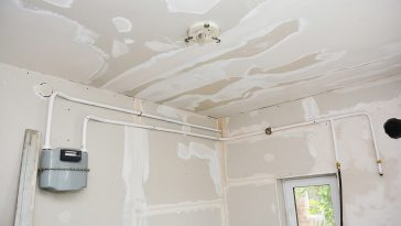 How to remove drywall mud from a wall