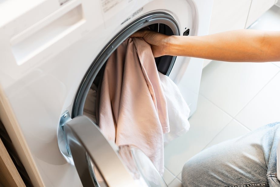 Washing machine P-Trap height