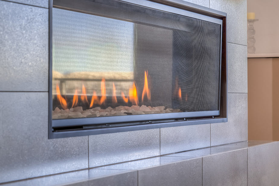 How to clean gas fireplace burner ports