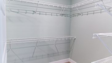 How to install wire shelving into drywall