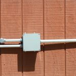 How to remove nailed in junction box